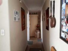 Passage to bedrooms and bathrooms