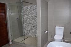 Family bathroom shower