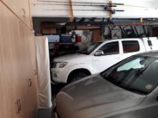 Main house garage