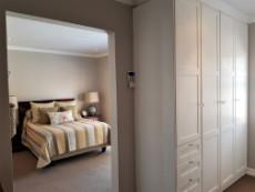 Master bedroom with a separate walk-in-closet