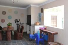 Patio with built-in braai