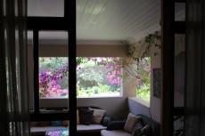 Patio from study