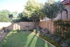 Landscaped garden.