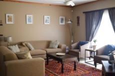 Luxury sized living area.