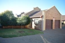 Front view of property with double garage.