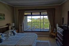 Main bedroom with sea views