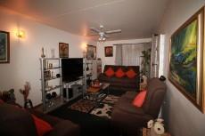 Open plan TV room