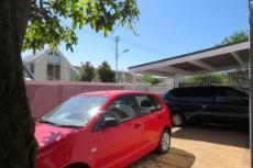 Car port & parking area