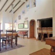 built in braai area