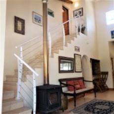 stairs leading to main bedroom