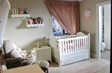 Nursery with en-suite bathroom