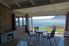 From the braai room towards the ocean