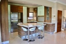 Open-plan kitchen with scullery