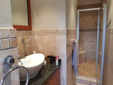3rd En-suite bathroom with shower, basin & toilet