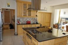 Kitchen with separate scullery/laundry