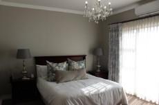 North facing, spacious main bedroom