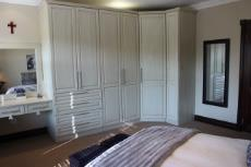 3rd bedroom built-in cupboards and dressing table