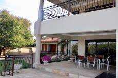 Covered patio and balcony