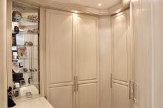 Walk-in closet in main bedroom
