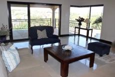 Family room with view of green area