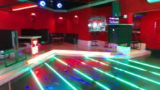 Lounge dance area