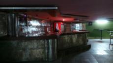 Dormant bar area