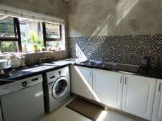 Scullery & laundry area
