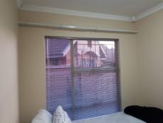 2nd Bedroom with blinds