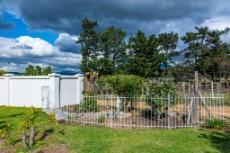 Cottage garden area