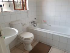 Guest bathroom with bath, basin & toilet
