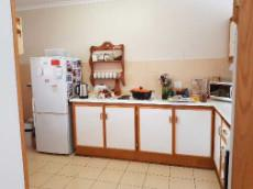 Kitchen with space for double fridge