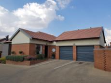 Loose standing, double automated garages direct access into unit