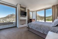 Main bedroom with 270degree views