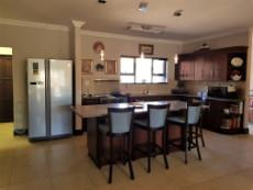 Kitchen with granite tops and breakfast nook