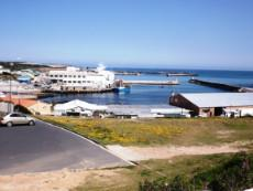 Gansbaai harbour;  ±750 metres walking distance away from us.
