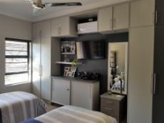 3rd Bedroom with built-in-cupboards, fan & air conditioner