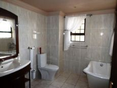 Ground Floor:  7th Bathroom for Guests (with bath).