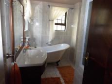 Ground Floor: 4th en suite Bedrooms Bathroom (bath & shower).