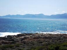 Sea View (Hangklip & Hermanus coastline in the  background).