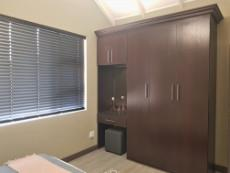 2nd Bedroom with built-in-cupboards & dresser