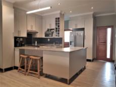 Gourmet kitchen with granite tops and breakfast nook