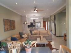 Open plan kitchen, lounge and braai room