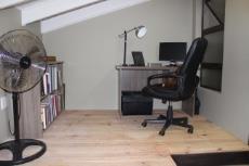 Loft utilised as study