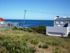 Sea View slightly to our left.  Only 1 Plot in between the 2 houses.