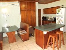 Spacious kitchen with breakfast nook