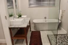 Brand new, elegant bathrooms