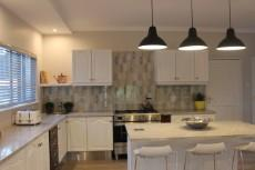 Beautiful kitchen with ample cupboard space