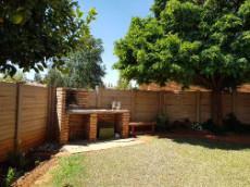 Private garden with built-in-braai & irrigation in bedding