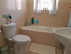 Full bathroom with bath & toilet