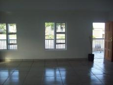 living room with entrance from stoep